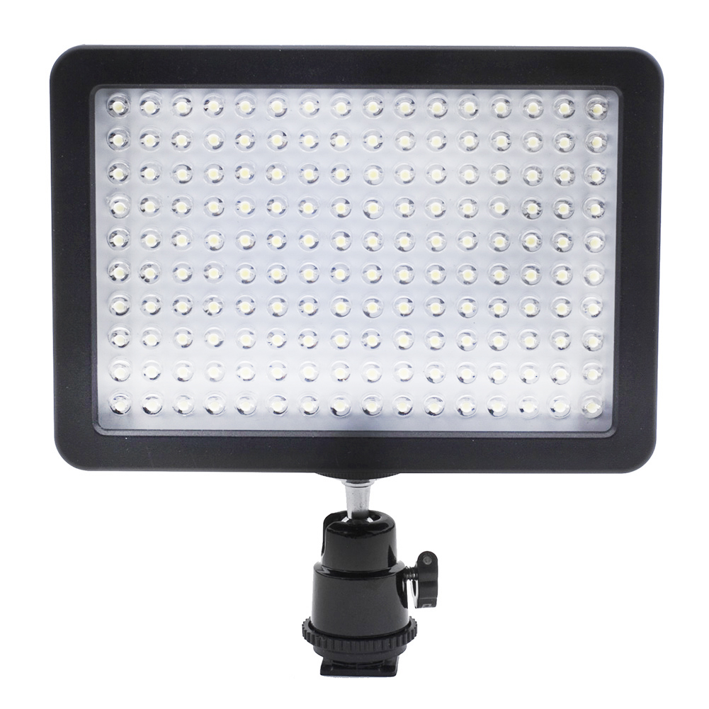 Neewer Ultra High Power 160 LED Video Light Panel with Shoe Adapter for Olympus
