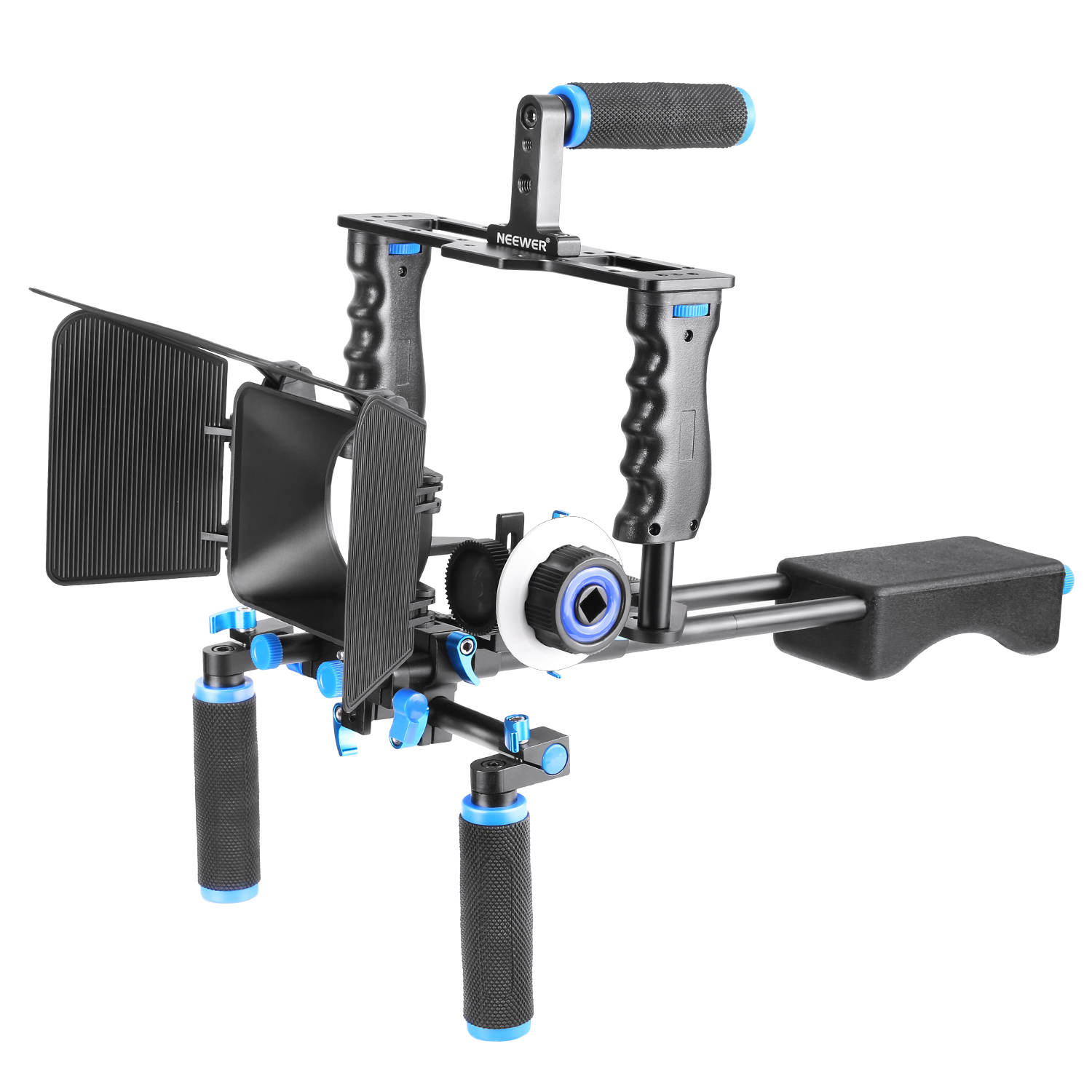 Neewer Aluminum Film Movie Kit System Rig for Canon/Nikon/Pentax/Sony and other DSLR Cameras Image