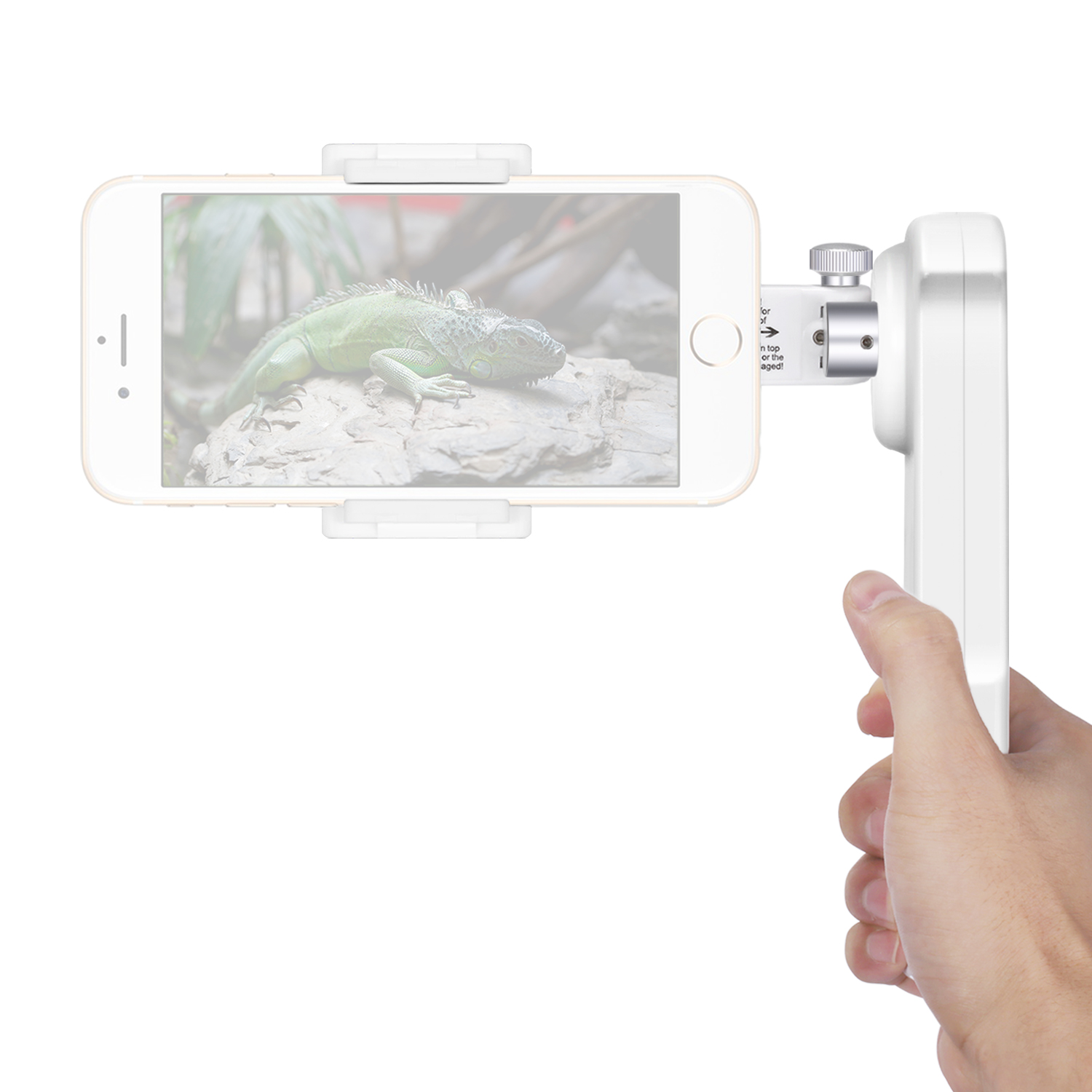 Neewer NW-2AG200 2-Axis Foldable Handheld Smartphone Gimbal Stabilizer for iPhone 7 Plus 7 6s 6s Plus Samsung S5 S6 Edge Plus Image