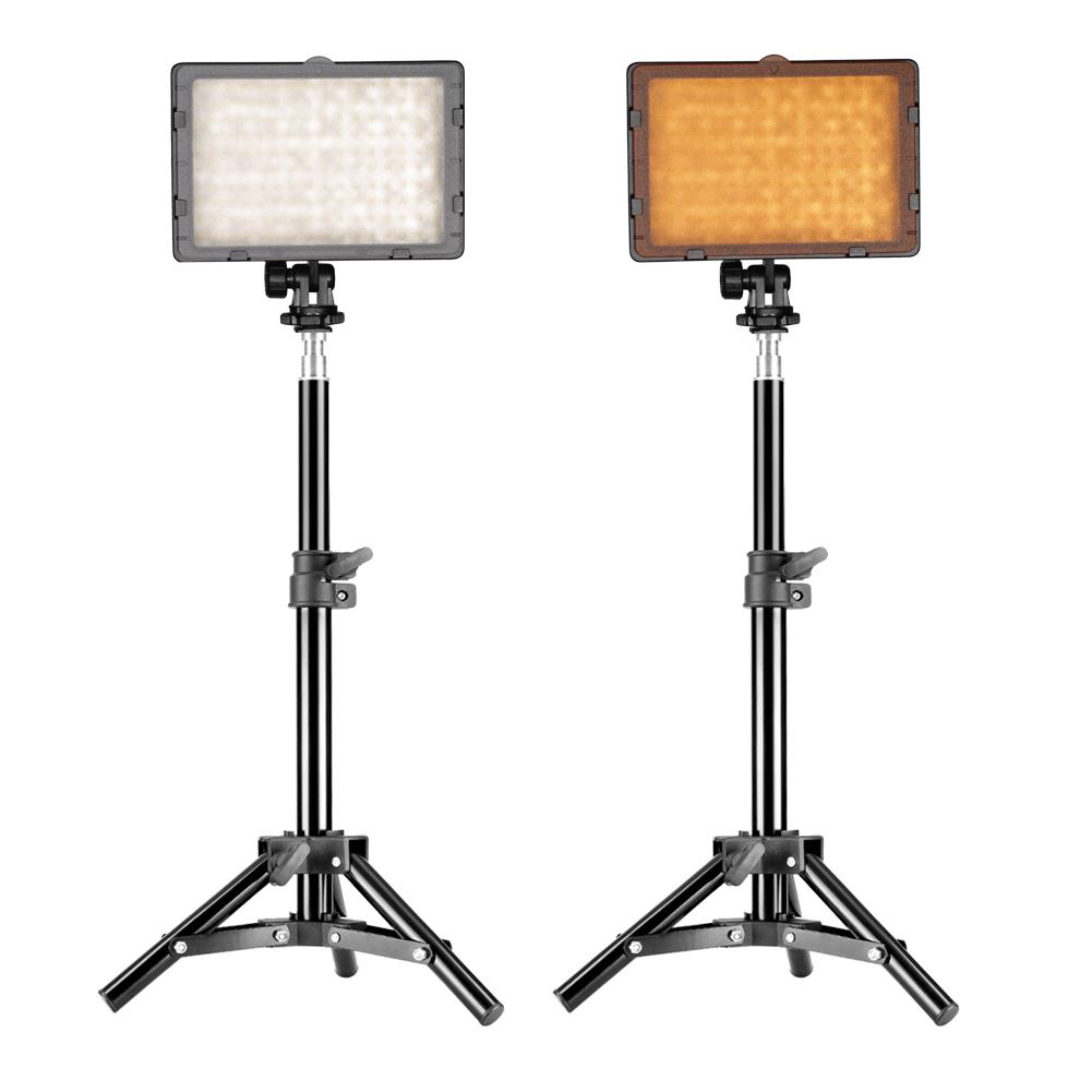 Led Studio Lights India: Neewer Photography CN 160 LED Video Studio Light Kit